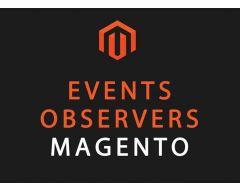 Magento Observer Design Pattern 1.9 full list